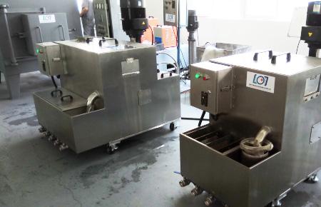 江苏省南京锻造氧化皮清洗机客户