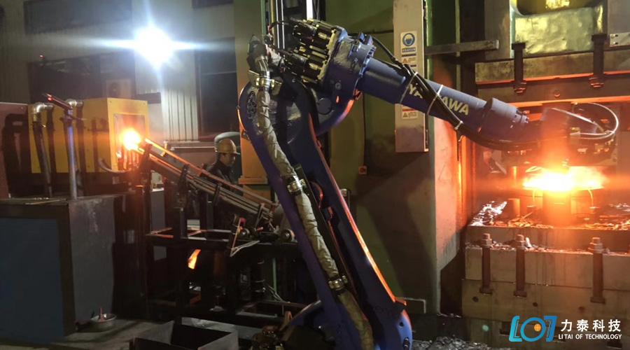 锻造工业机器人进化版