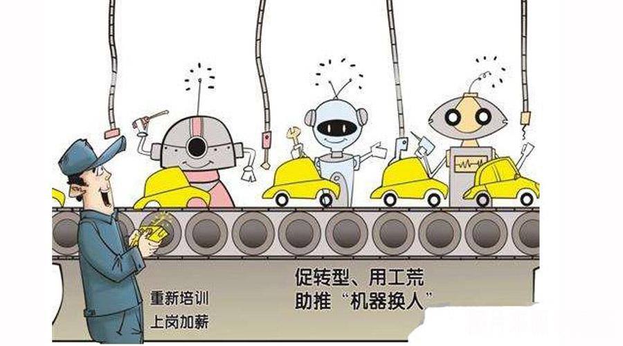 传统人工流水线转变自动化生产线将是必然趋势