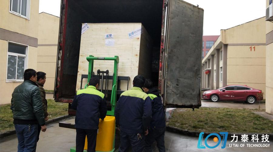 福州金锻小型氧化皮清洗机发货中