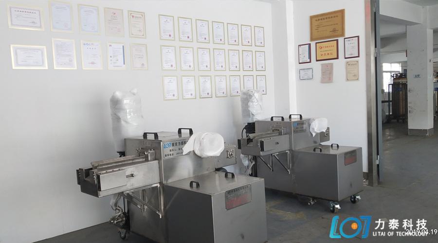 温州客户选择去氧化设备取决于质量与材质