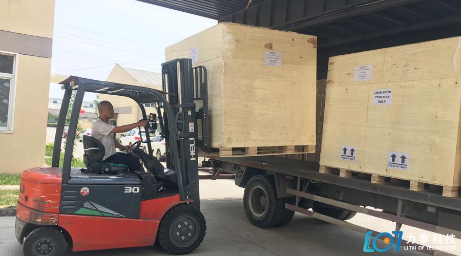 印度最大锻造厂复购的3台氧化皮清洗机发货啦!