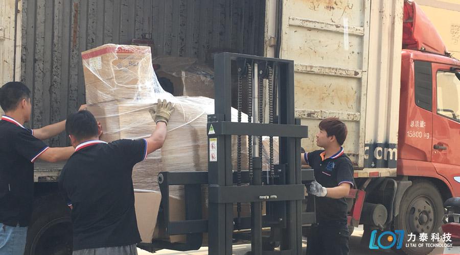 这个夏天力泰科技忙着发货——氧化皮清洗机
