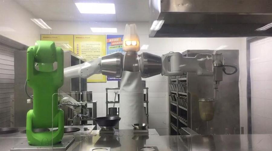看工业机器人在餐饮行业的应用