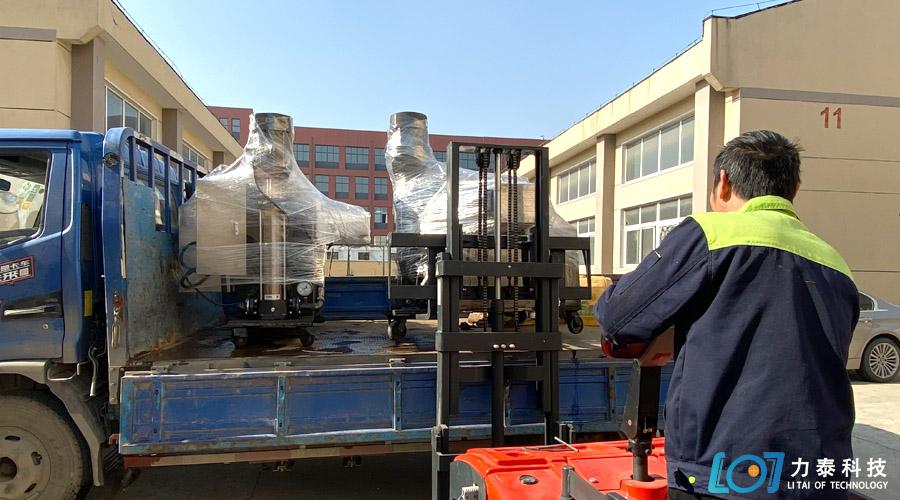 感谢芜湖三联的信任多次复购力泰牌去氧化皮设备