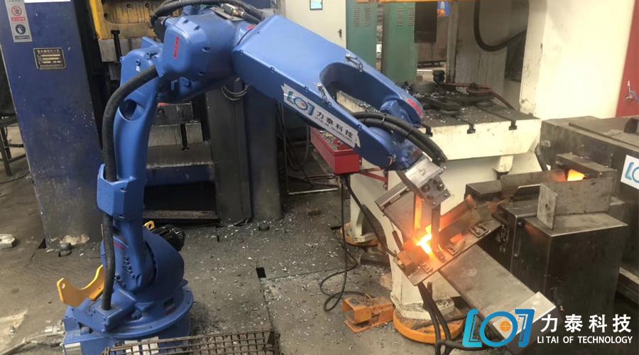 锻造工业机器人推动锻造业的自动化生产——六轴机器人