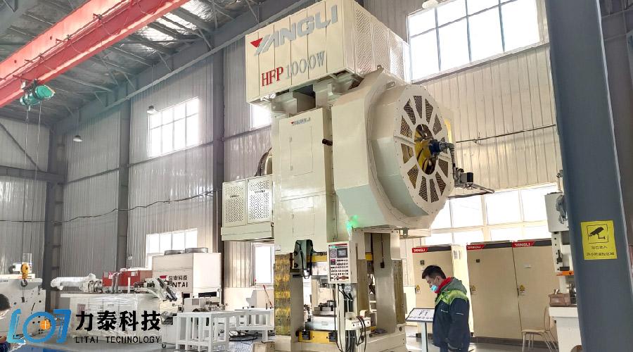 力泰科技引进1000吨位热模锻压力机