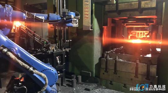 锻造工业机械手实现自动化生产的必要条件!