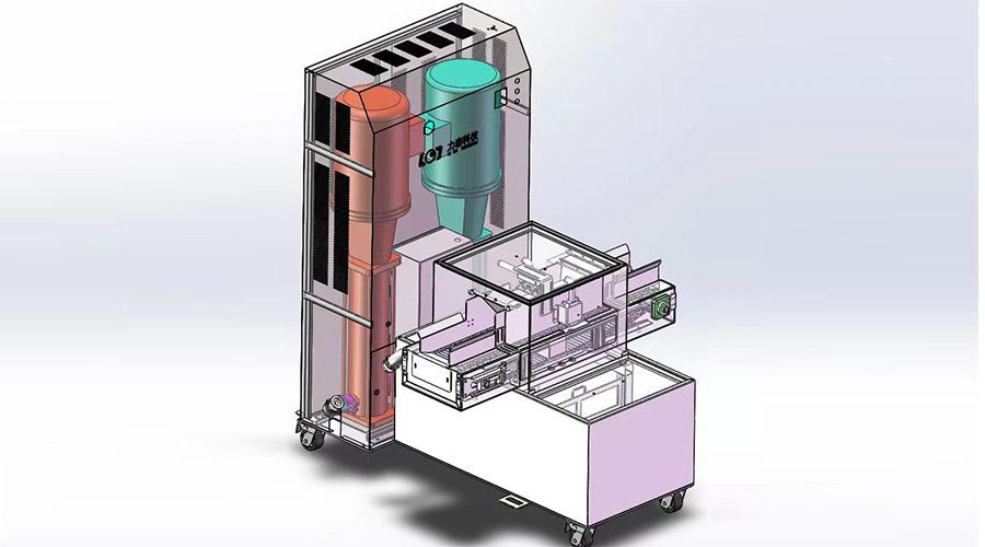关于新款氧化皮除磷机的最亮点的介绍